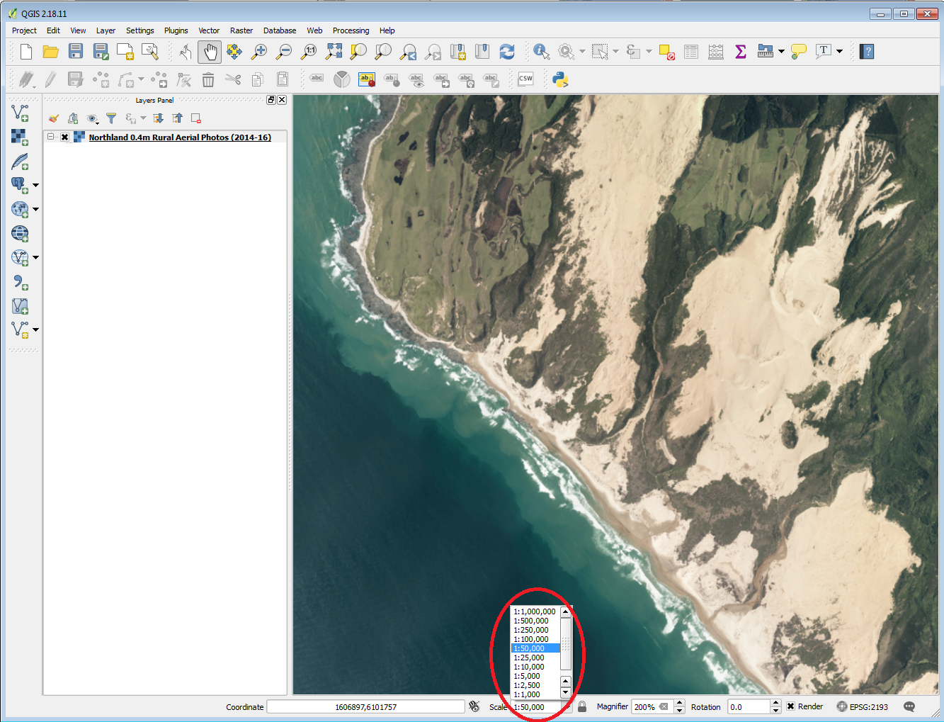 Using LDS WMTS in QGIS | Land Information New Zealand (LINZ)
