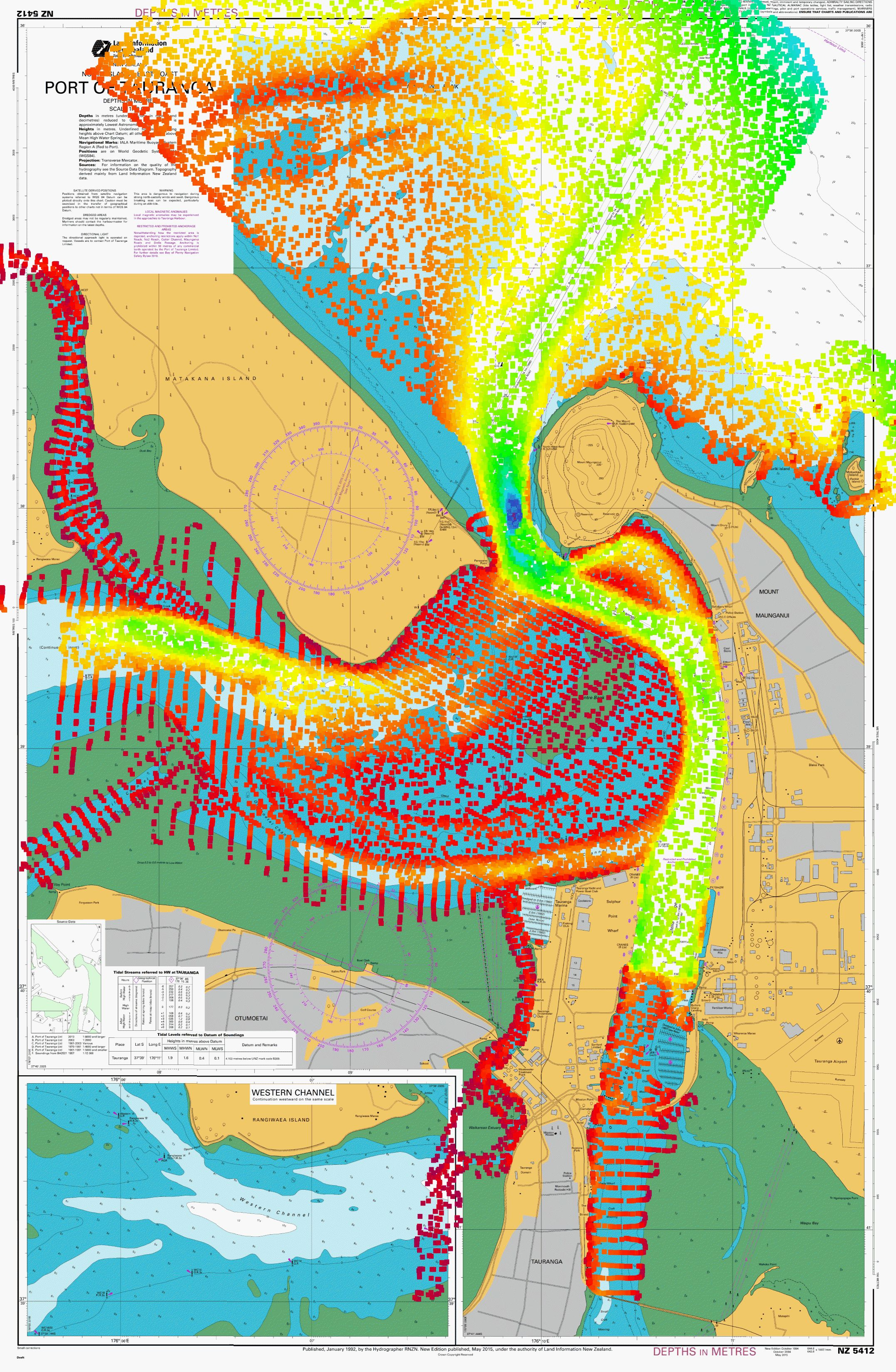 Updated nautical charts for tauranga skippers land information new updated nautical charts for tauranga skippers land information new zealand linz geenschuldenfo Images