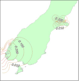 South Island Coordinate Update Image