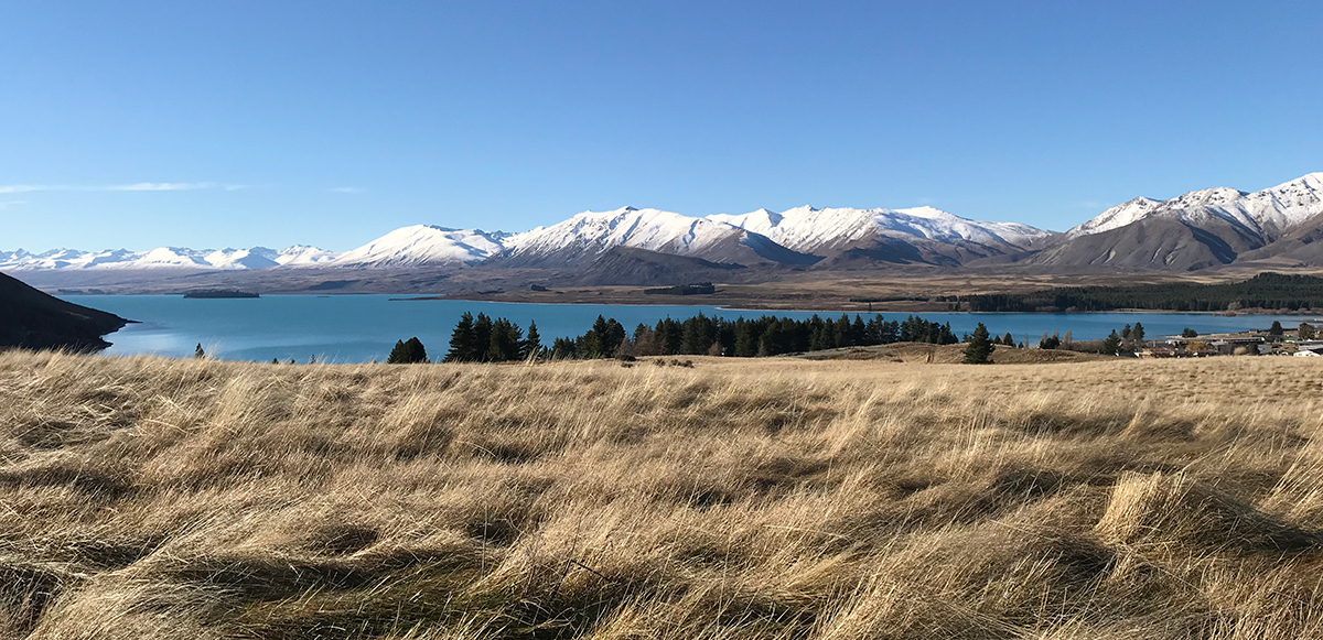 Photograph of Lake Tekapo