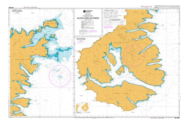 Plans In The Auckland Islands Land Information New Zealand Linz