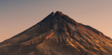 Mt Taranaki photo from the cover of the Annual Report