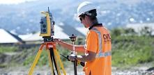 Photo of a surveyor
