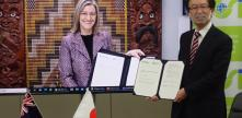 New Zealand and Japan sign agreement to improve geodetic systems