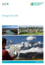 Cover of the Strategic Plan 2015