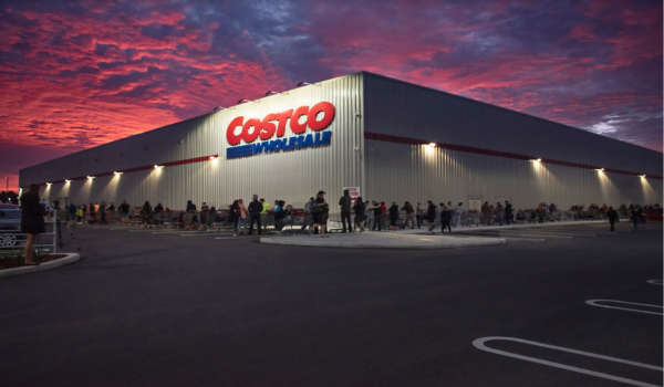 A Costco Wholesale outlet
